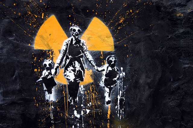 nuclear waste and family image-Nuclear Energy Nuclear Bombs Nuclear Waste fasten the extinction of mankind- Scientist have warned us for years