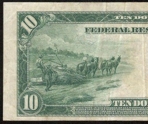10 Dollar Bill Hemp