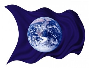 Flickr - earth flag - Beverly & Pack
