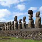 The Secret of the Walking 82-ton Statues of Easter Island