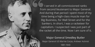 Major General Smedley Butler – The Military Industrial Complex's Original Whistleblower
