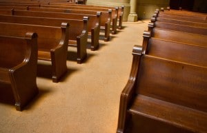 Church Empty-pews