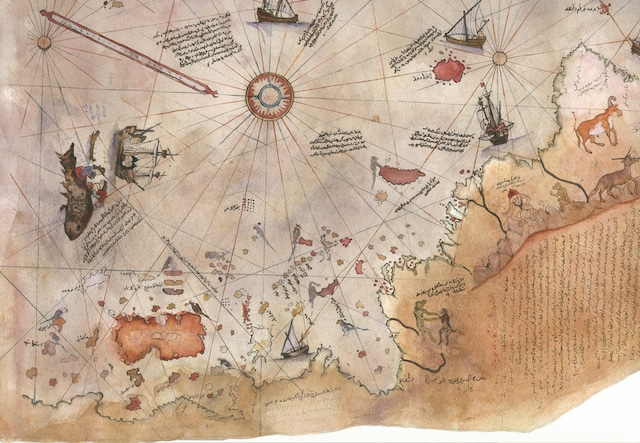 The 500 Year Old Map that Shatters the Official History of the Human