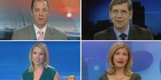 Newscasters Feed You with More Scripted Corporate News