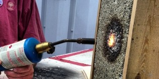 What Happens When You Put a Blowtorch Up to Hempcrete