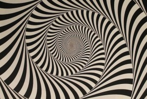 swirl optical illusion