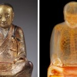CT Scan Reveals Mummified Chinese Monk Inside Buddha Statue