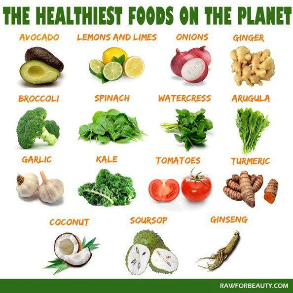 what is the healthiest food in the world