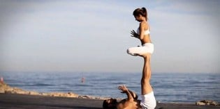 The Beauty and Grace of Acro Yoga