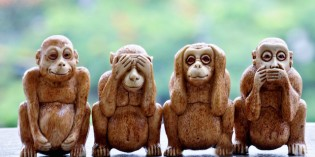 "Idiots, Zealots, Elitists & Patriots: The 4 ""Wise Monkeys"" of Modern Society"