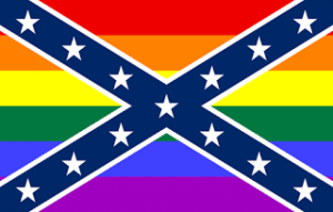 Rainbow Confederate Flag
