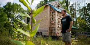 Fed Up with Rent and Dorms, U of M Student Built this Amazing Tiny House
