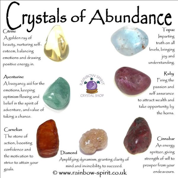 attract prosperity and abundance using these crystals
