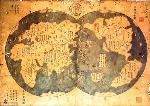 Celebrating-Genocide-–-Christopher-Columbus-Conquest-of-America-an-18th-century-copy-of-Admiral-Zheng-Hes-1417-map-proves-the-New-World-was-not-discovered-by-Columbus