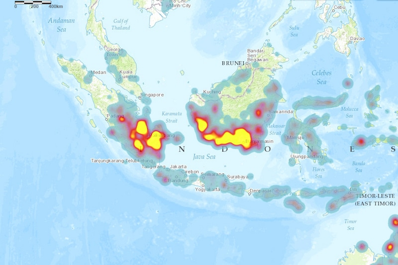 Indonesia Fire