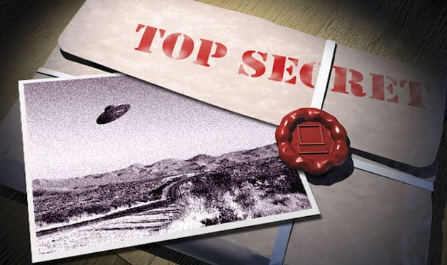 Alien UFO Top Secret