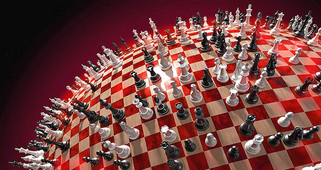 Bilderberg Global Chess Board