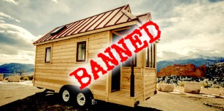US Government Declaring All Out War on Tiny House Living