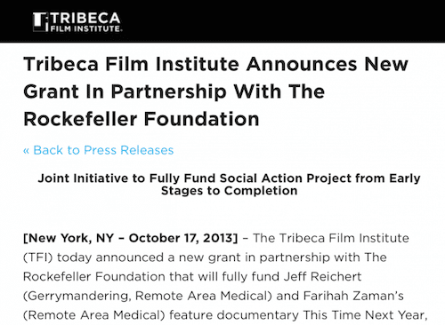 tribeca screen