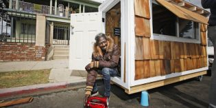 Tiny Homes for the Homeless Now Under Attack in California