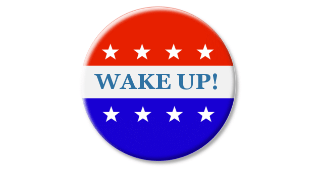 Vote Button Wake Up
