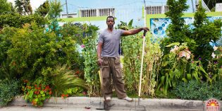 Gangsta Gardener Ron Finley Asks the World for Assistance to Save His Garden