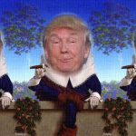 Humpty Trumpty and the Shear in the Matrix