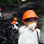 Viral Image Shows the Impact Oil Drilling is Having on the Amazon's Waterways