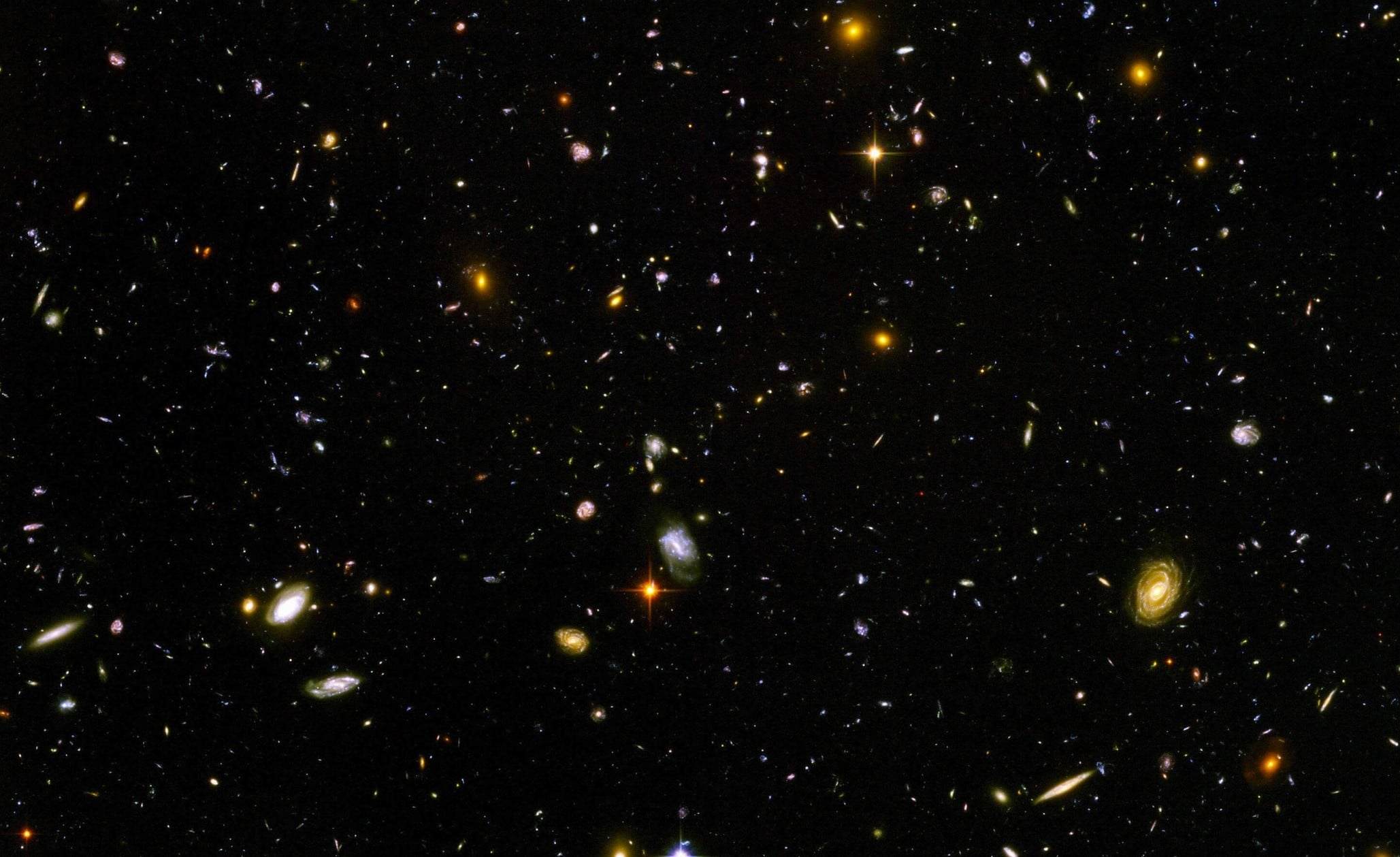 different galaxies in space - HD1920×1200