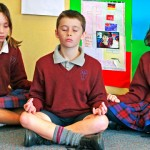 Pupils Meditating and Engaging in Philosophy