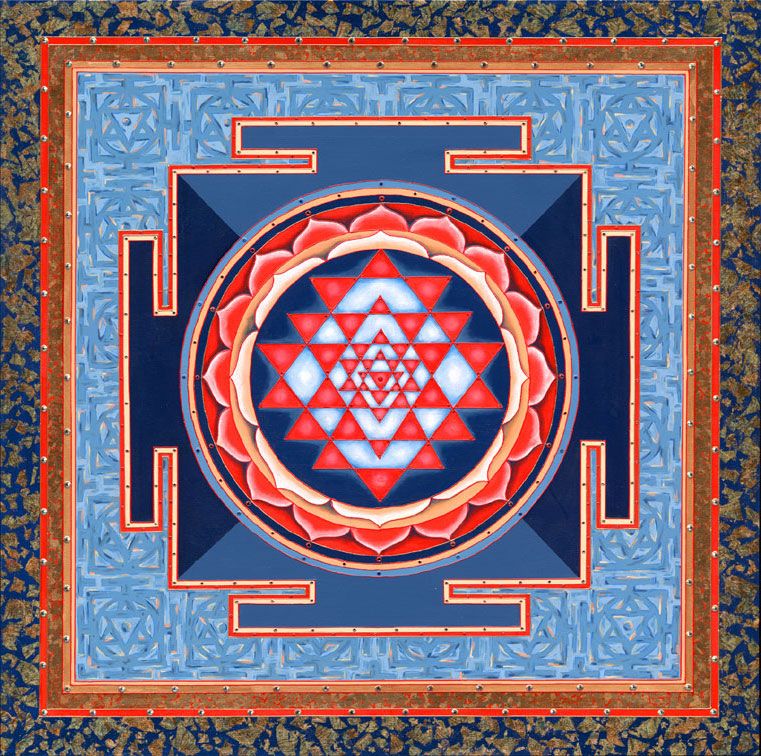 Sri Yantra The Ultimate Fractal For Healing