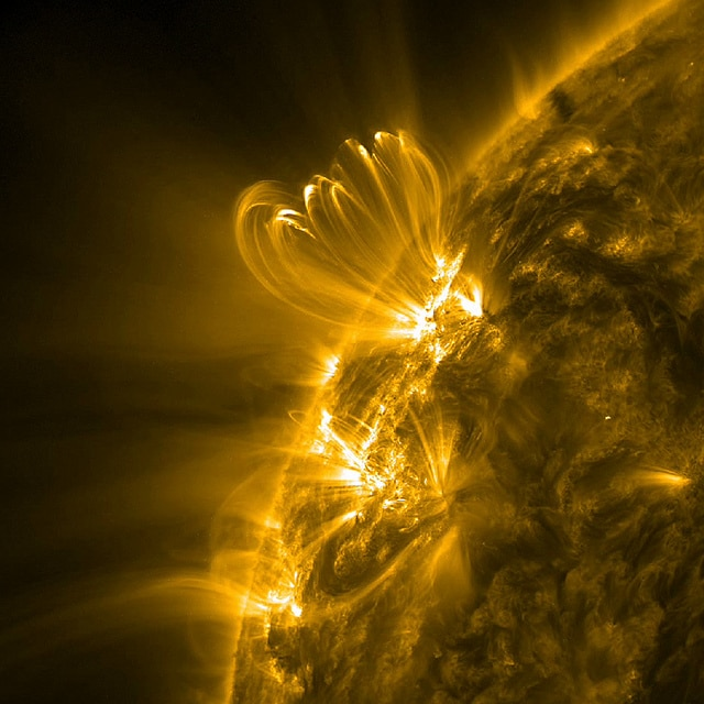 The Effect of Solar Flares on the Pineal Gland