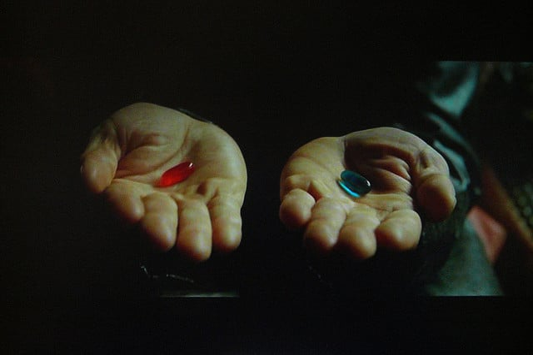 FLickr - Red Pill Blue Pill - Paul L Dineen