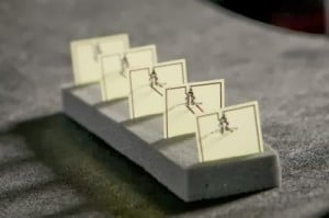5-cell metamaterial array harvesting WiFi for energy  Image: Duke University