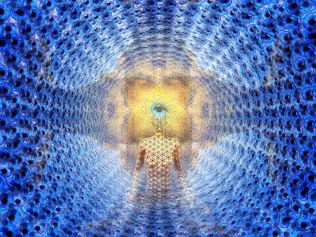 Downloading Information from the Field through Inner Silence