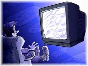 How is the television stirring up your emotions? Source
