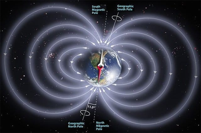 Earths Magnetic Field Reversal Will We See a Reversal...