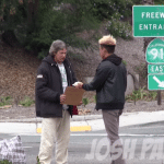 Homeless Man Receives $100 and Blows it on Something Wonderful