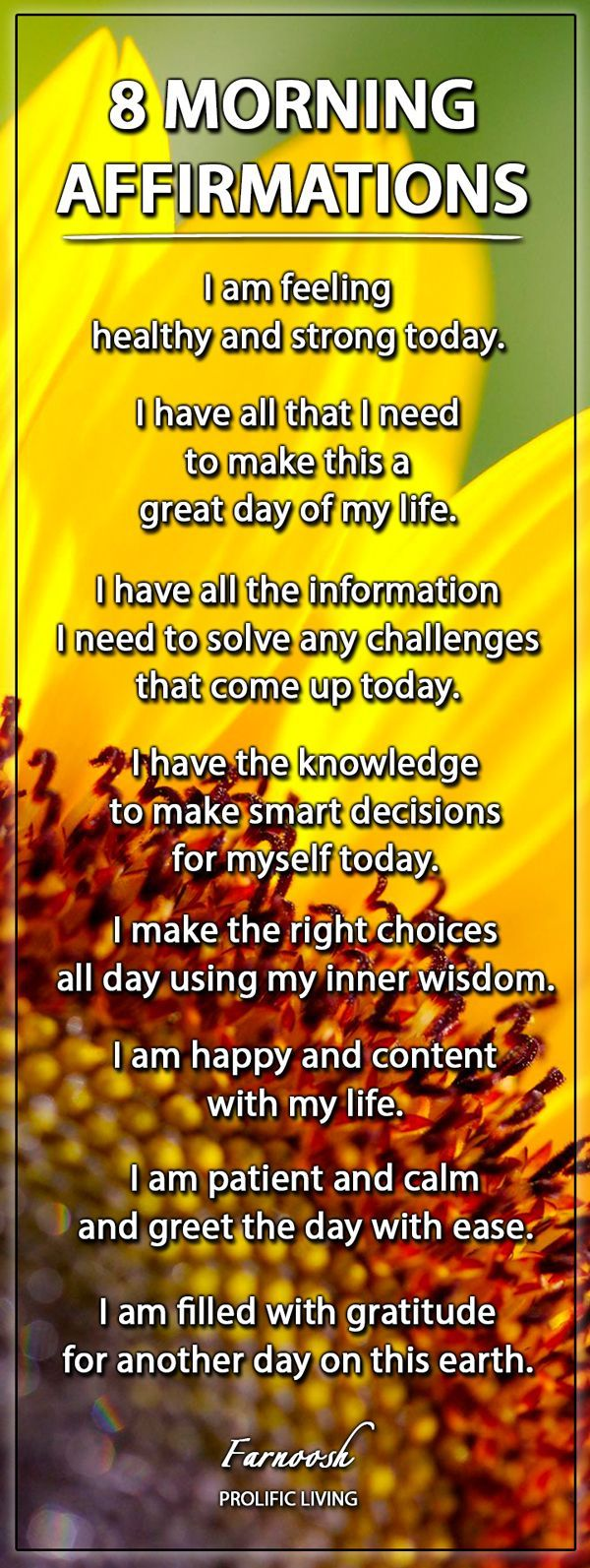 morningaffirmations