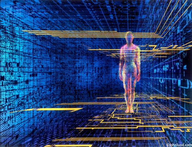 The Nature of Mind and the Holographic Brain
