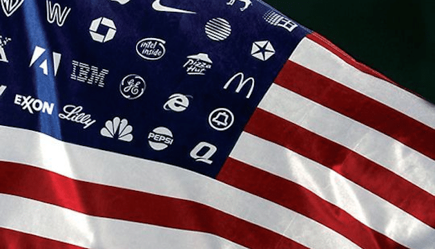 corporate american flag-1