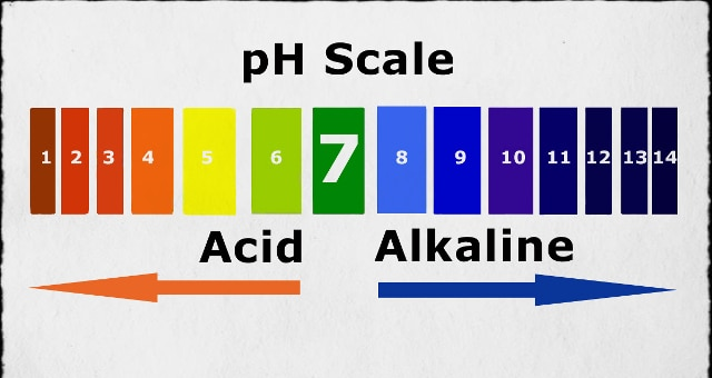 Ph chart of alkaline and acidic foods - Comment mesurer le ph ...