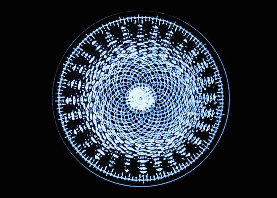 cymatics blue universe cosmic