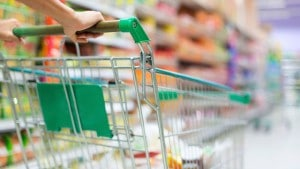 shopping grocery cart food