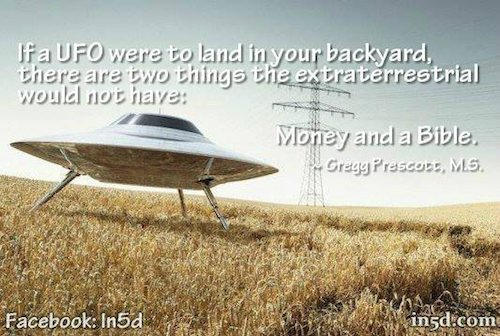 Money Bible UFO