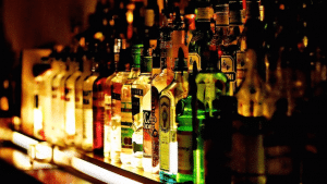 Liquor Bottles Alcohol Bar