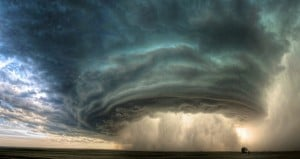 Thunderstorm Supercell Clouds