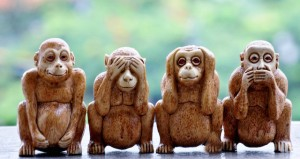 4 Wise Monkeys