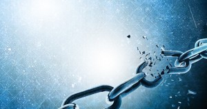 Breaking Chains Blue
