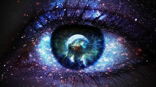 Religion Eye Cosmic